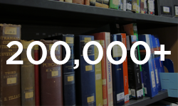 Over 200,000+ books in Squire Law Library